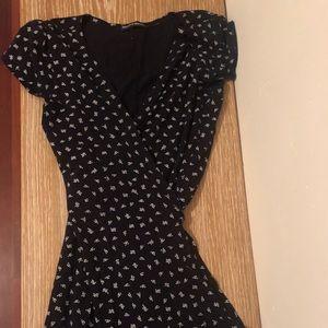 Brandy Melville Mini Wrap Dress